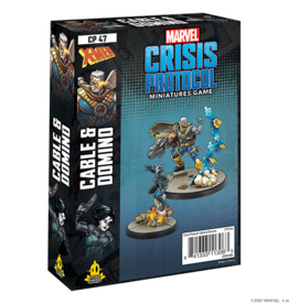 Atomic Mass Marvel Crisis Protocol: Domino & Cable Character Pack