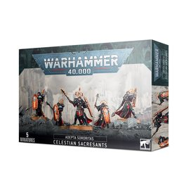 Games Workshop Warhammer 40k: Adepta Sororitas Celestian Sacresants