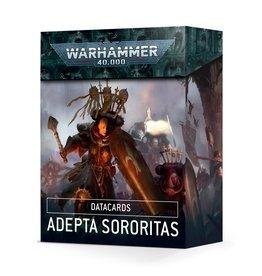 Games Workshop Warhammer 40k: Datacards: Adepta Sororitas (English)