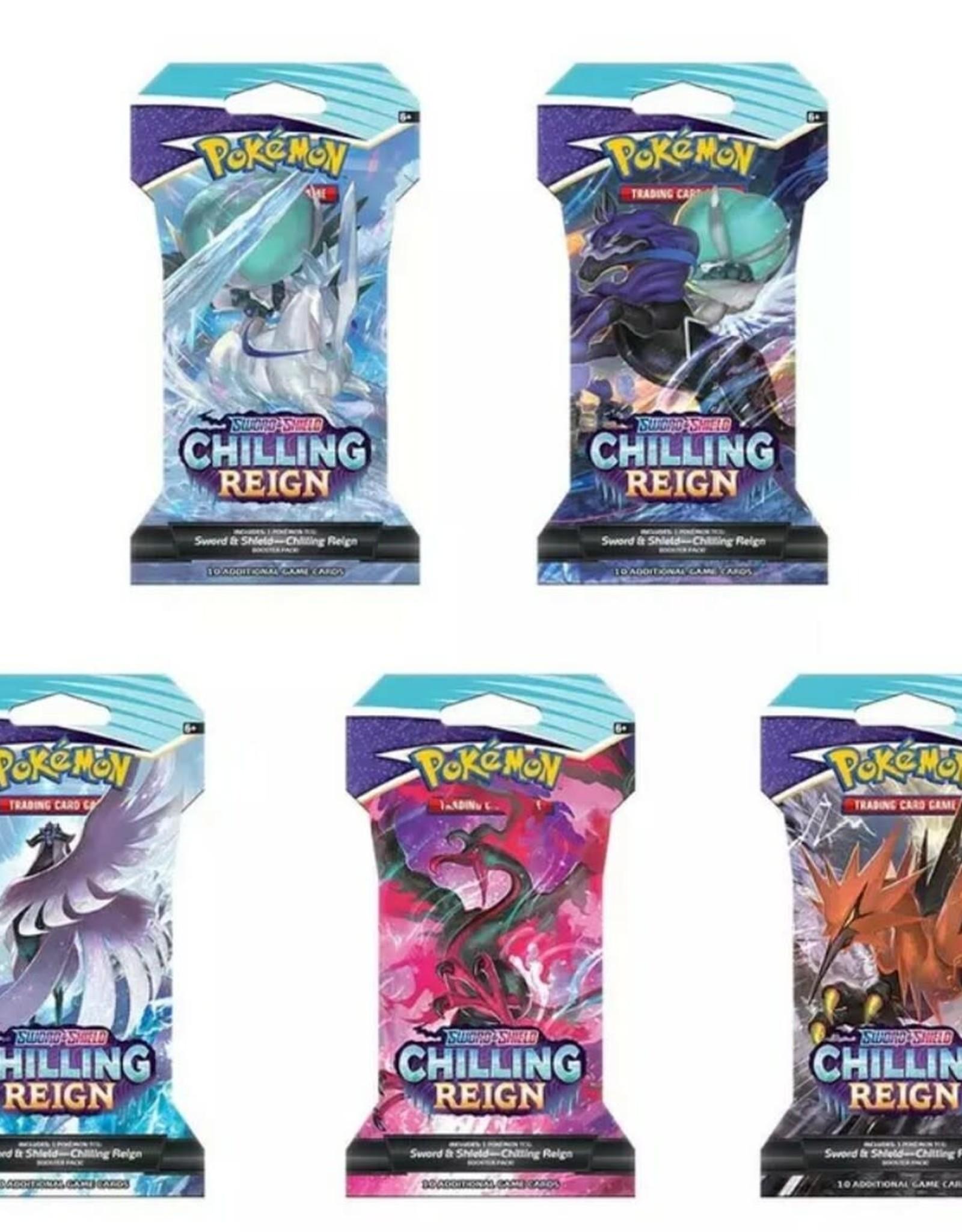 Pokemon Pokemon Chilling Reign Booster Pack