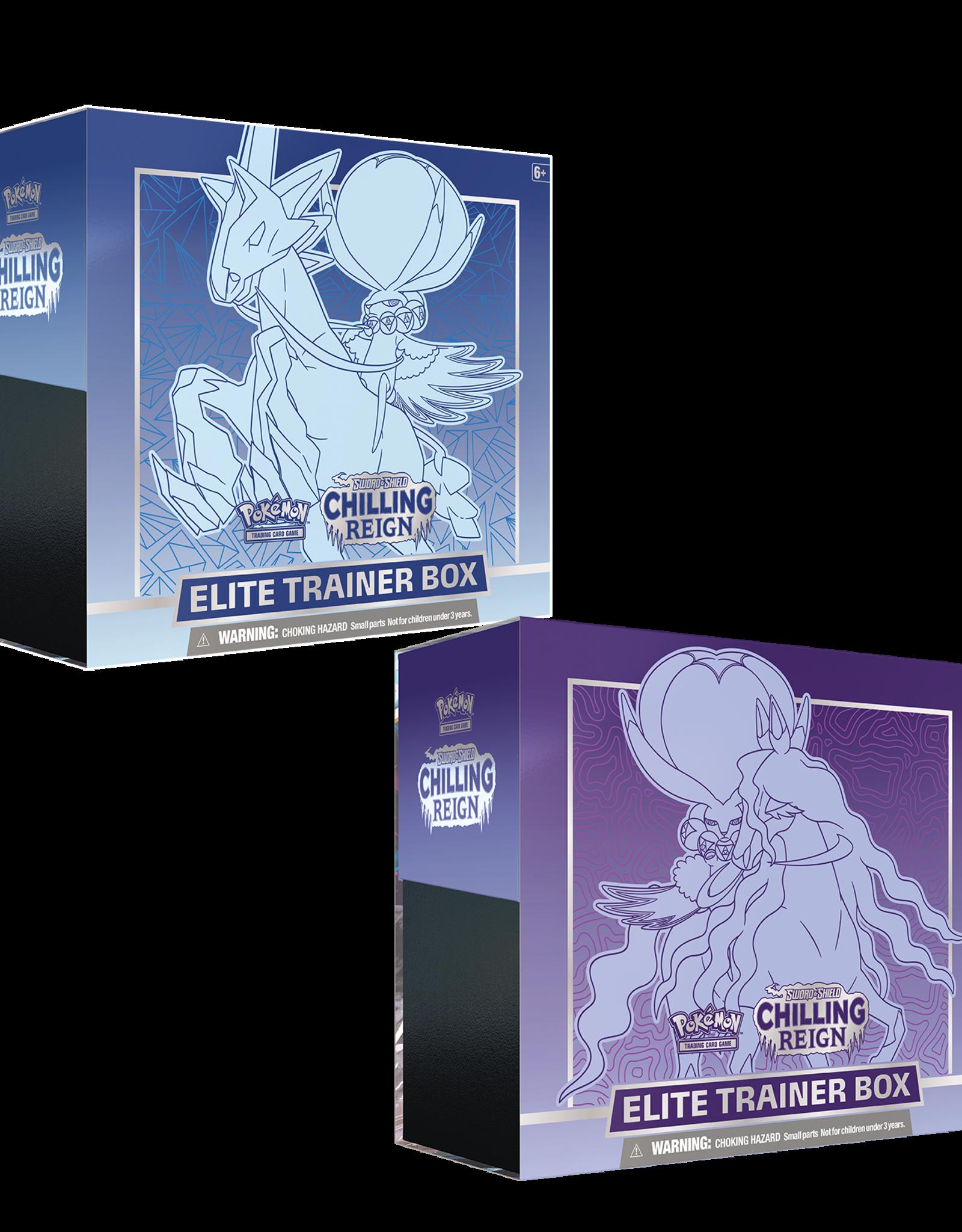 Pokemon Pokemon Chilling Reign Elite Trainer Box