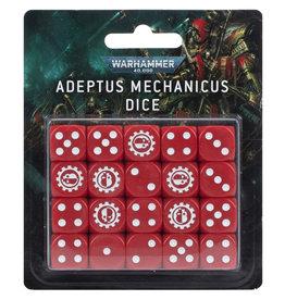 Games Workshop Warhammer 40k: Adeptus Mechanicus Dice Set