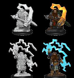 Wizkids D&D Mini: NM Primed: Dwarf Cleric