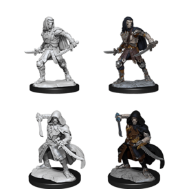 Wizkids D&D Mini: NM Primed: Warforged Rogue