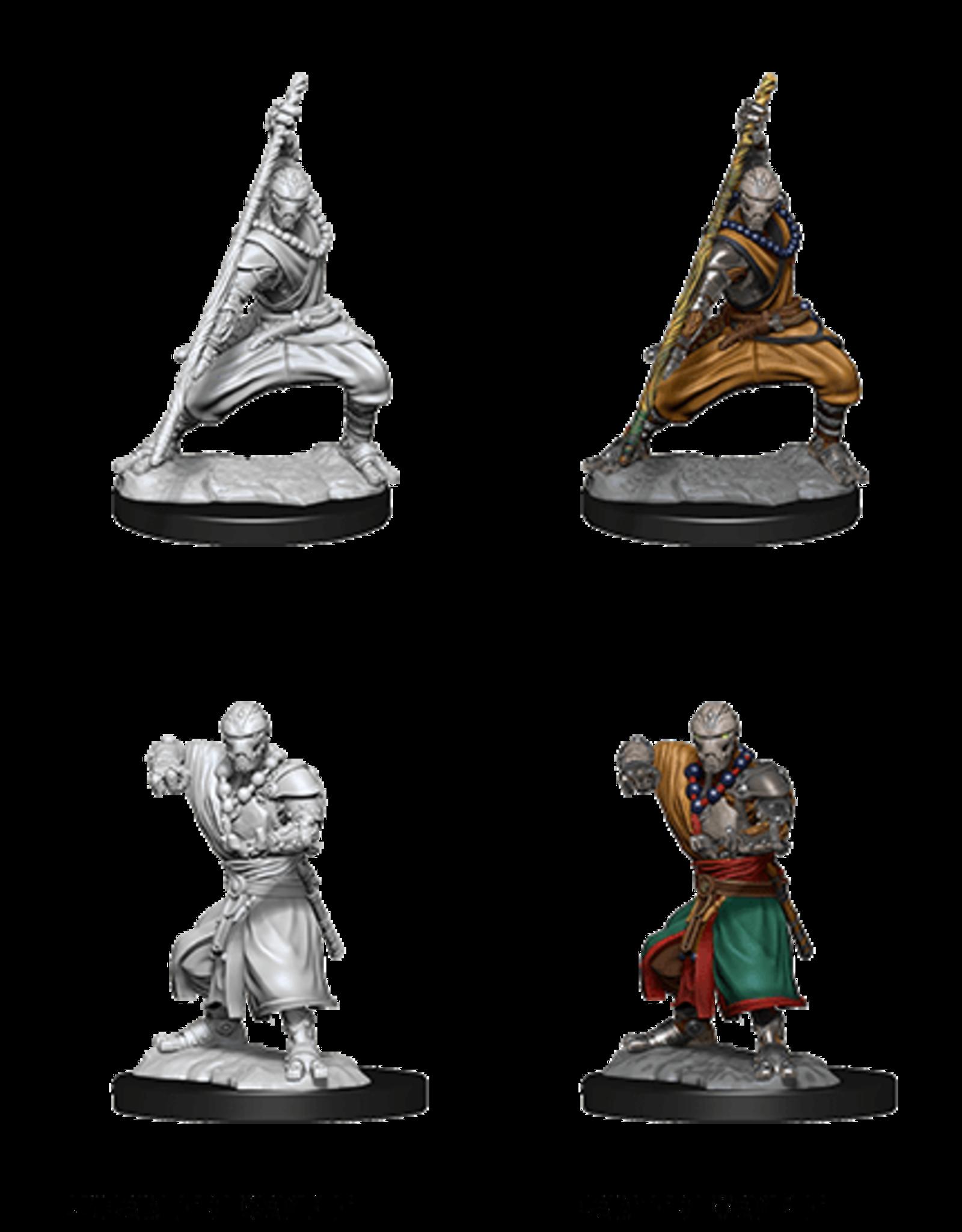 Wizkids D&D Mini: NM Primed: Warforged Monk