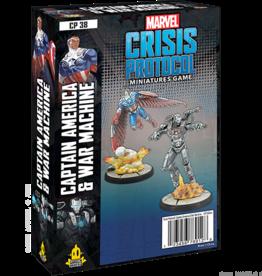 Atomic Mass Marvel Crisis Protocol: Captain America and War Machine
