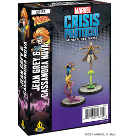 Atomic Mass Marvel Crisis Protocol: Jean Grey & Cassandra Nova
