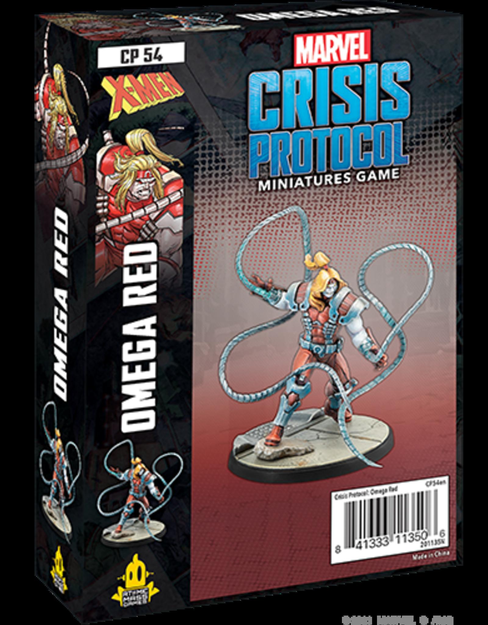 Atomic Mass Marvel Crisis Protocol: Omega Red