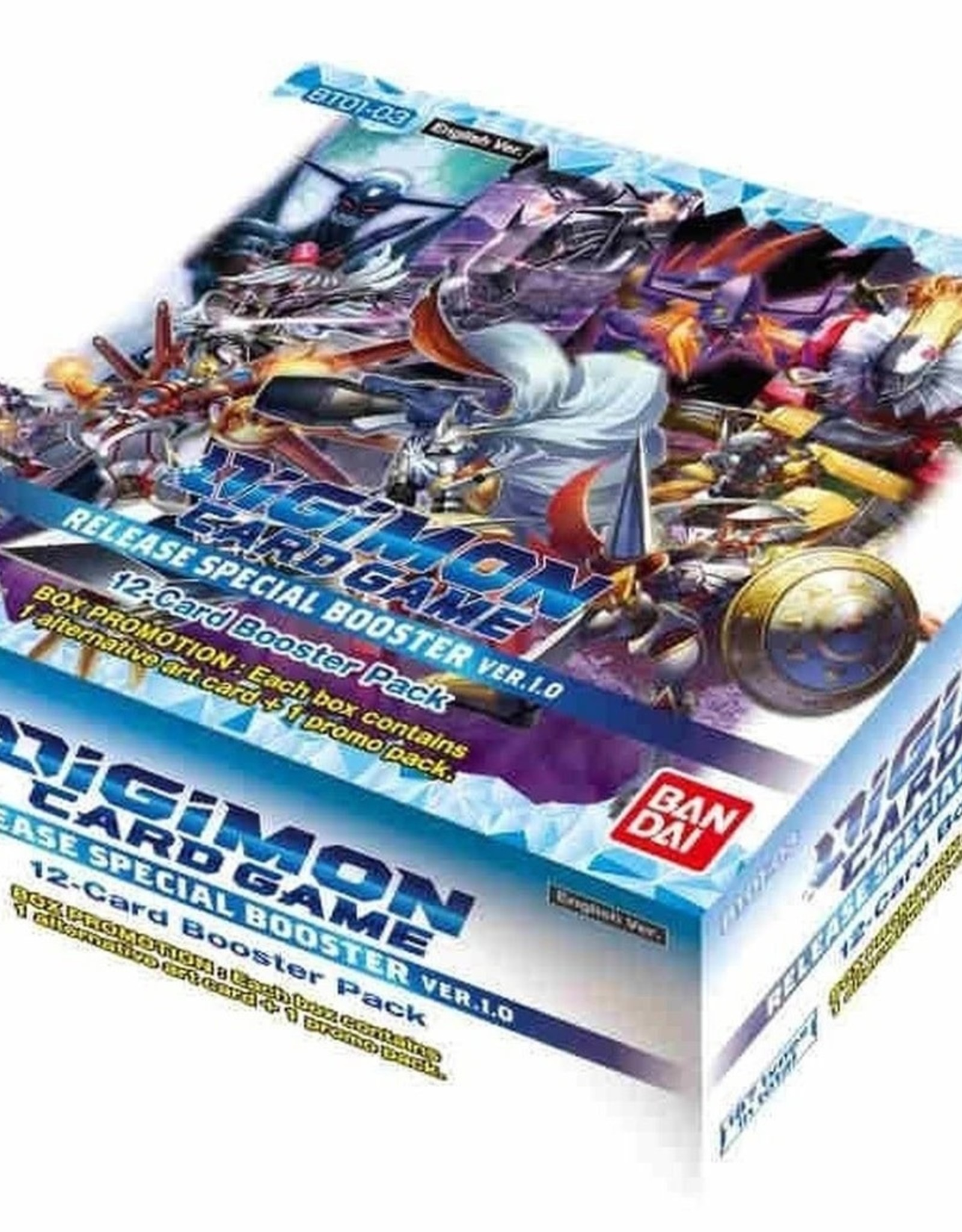Bandai Digimon TCG: Release Special Booster Box 1.0