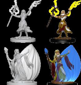 Wizkids D&D Mini: NM Primed: Female Elf Wizard