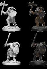 Wizkids D&D Mini: NM Primed: Earth Genasi Male Fighter