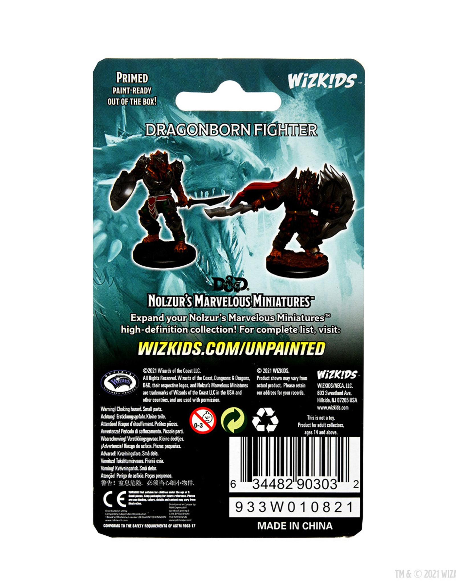 Wizkids D&D Mini: W15: Dragonborn Male Fighter