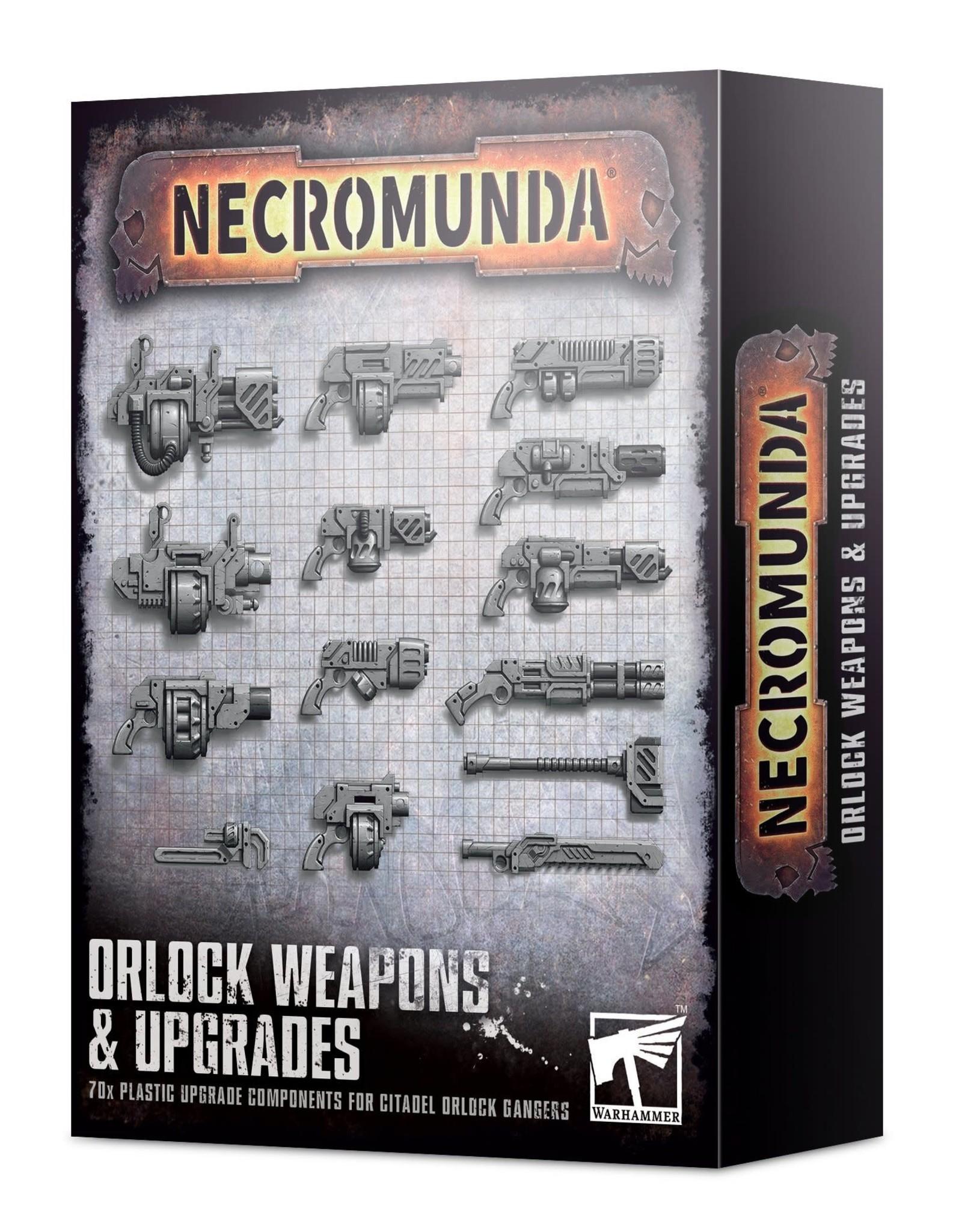 Games Workshop Necromunda: Orlock Gang Weapons and Upgrades