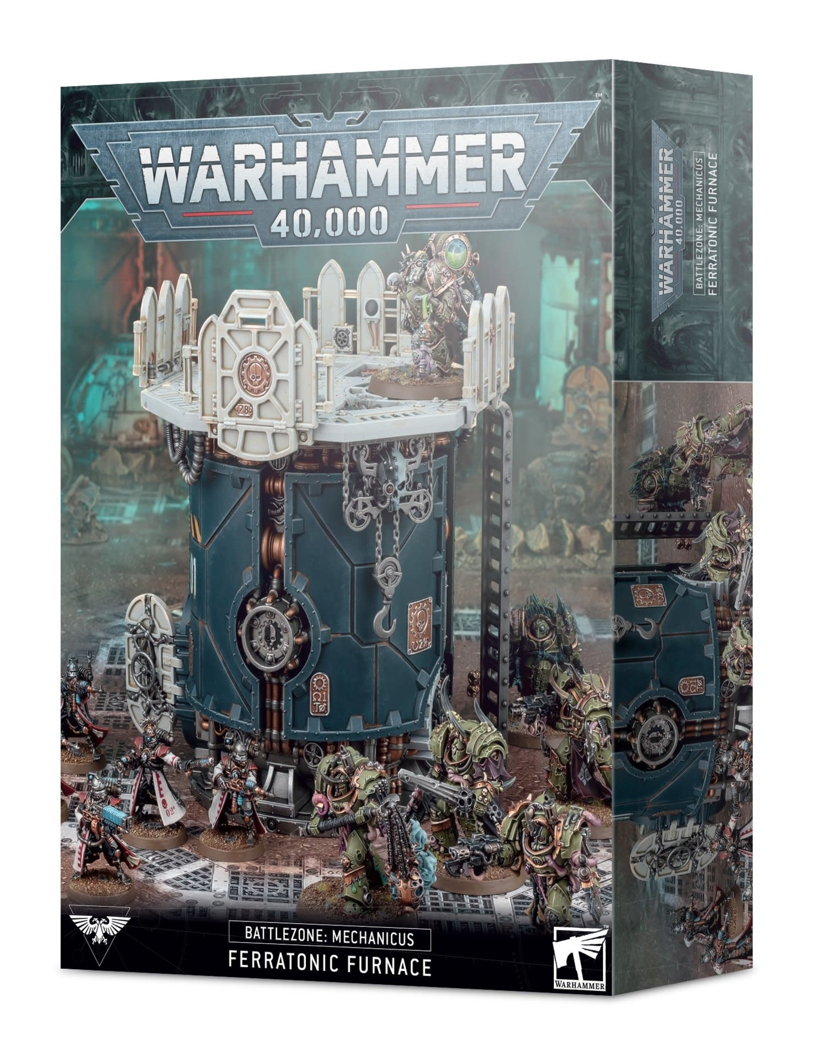 Games Workshop Warhammer 40K: Battlezone Mechanicus- Ferratonic Furnace
