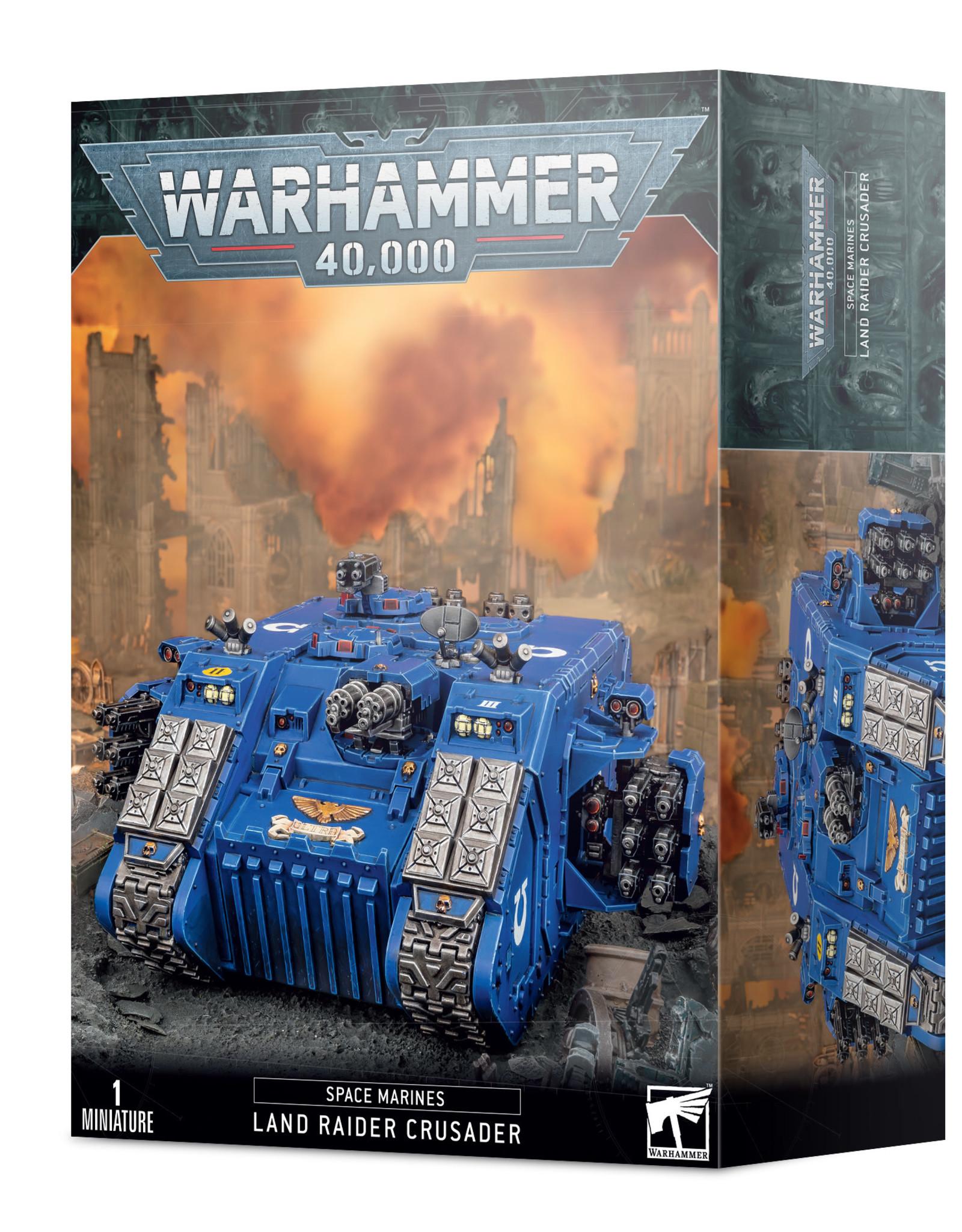Games Workshop Warhammer 40K: Space Marine: Land Raider Crusader