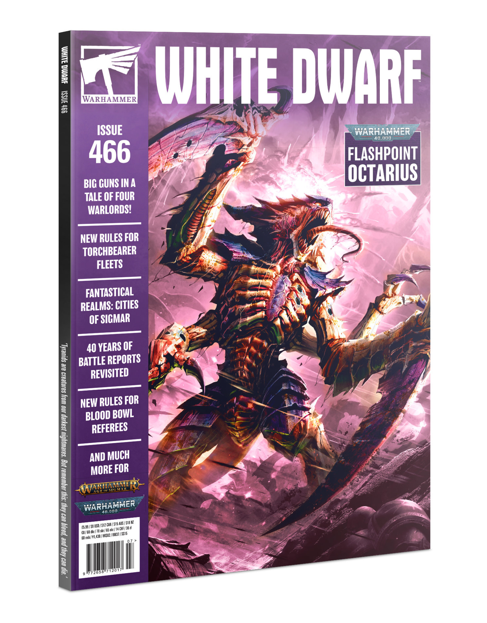 Games Workshop White Dwarf Magazine #466