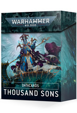 Games Workshop Data Cards: Thousand Sons
