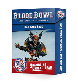 Games Workshop Blood Bowl: Shambling Undead Team Cards