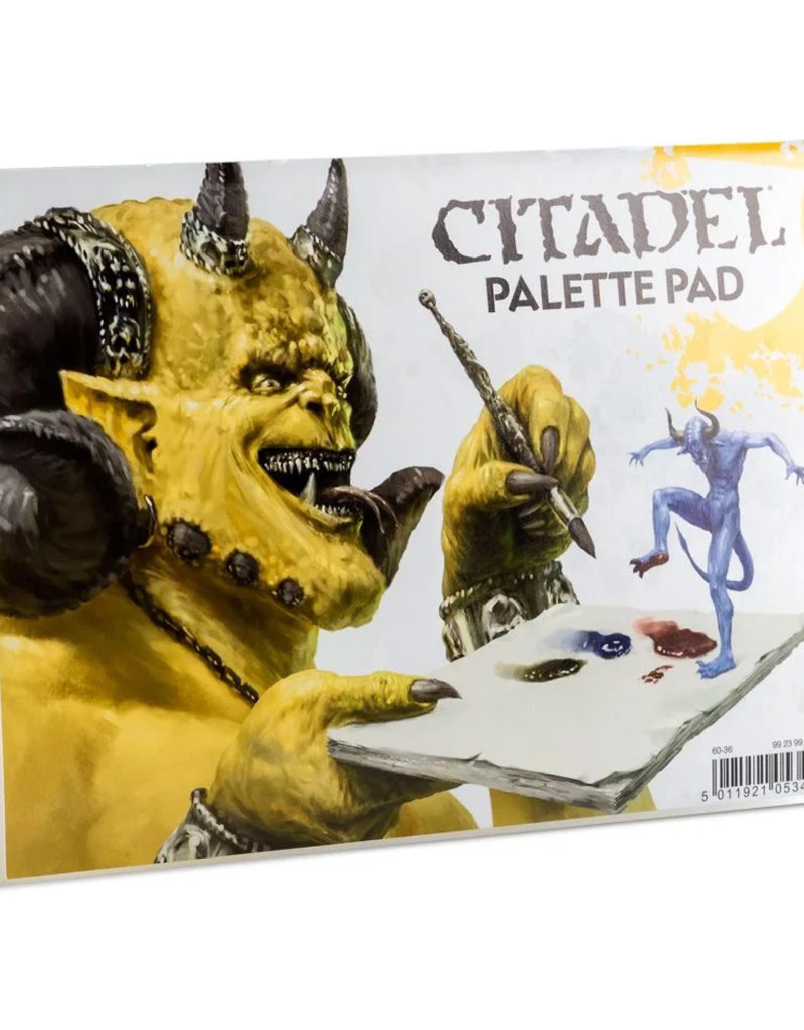 Games Workshop Citadel:  Palette Pad