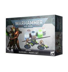 Games Workshop Warhammer 40K Necrons Warriors + Paint Set