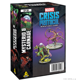 Atomic Mass Marvel Crisis Protocol Mysterio & Carnage Character Pack