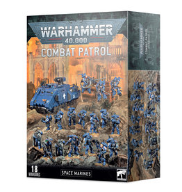 Games Workshop Warhammer 40k: Space Marines : Combat Patrol