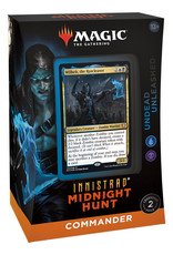 WOTC MTG Innistrad Midnight Hunt Commander Deck - Undead Unleashed (preorder)