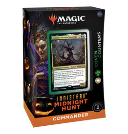 WOTC MTG Innistrad Midnight Hunt Commander Deck - Coven Counters