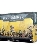Games Workshop Warhammer 40K: Ork Beast Snagga Boyz
