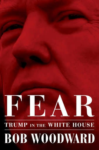 Simon & Schuster Fear by Bob Woodward