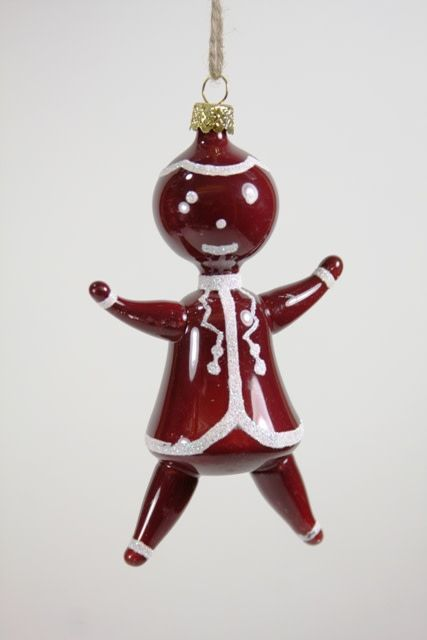 Cody Foster Blown Glass Gingerbread