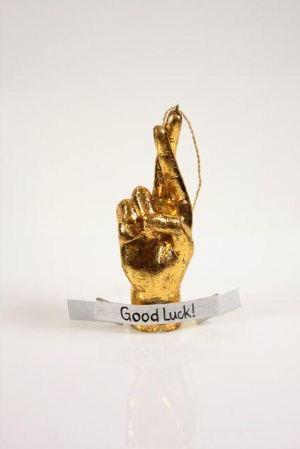 Cody Foster Good Luck Hand-Gold
