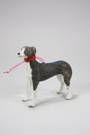 Cody Foster Paper Mache Greyhound