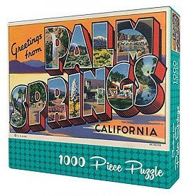Gibb Smith Greetings From Palm Springs Puzzle
