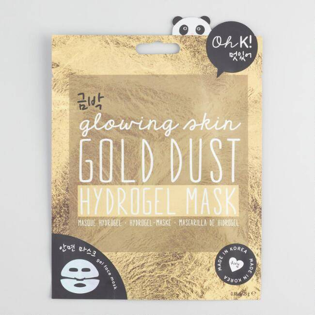 NPW Gold Dust Hydrogel Face Mask