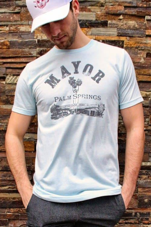 Twin Palms Mayor Tee