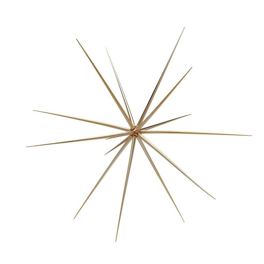 Torre & Tagus Sputnik Hanging Decoration Large- Gold