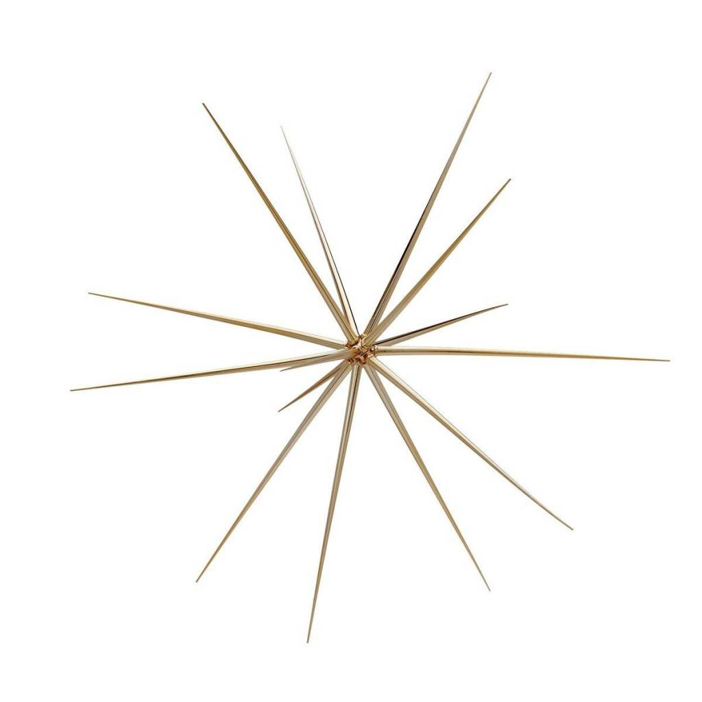 Torre & Tagus Sputnik Hanging Decoration Small- Gold