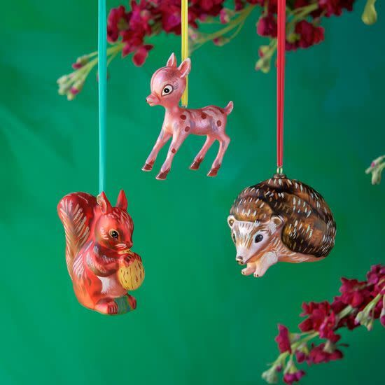 NL Woodland Animal Ornament