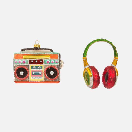 Headphones, Stereo Ornament, assorted