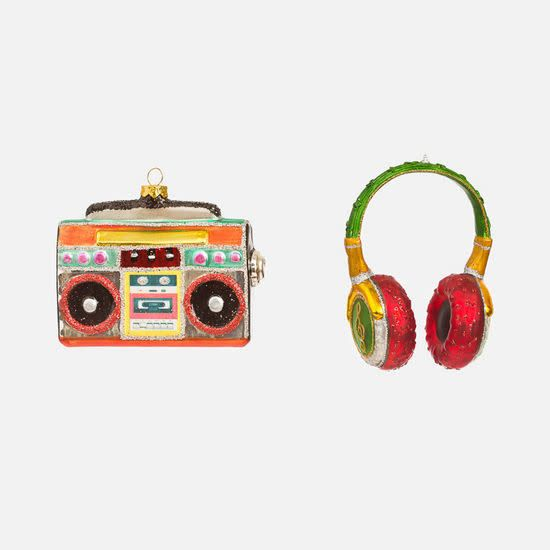 Headphones, Stereo Ornament, assorted