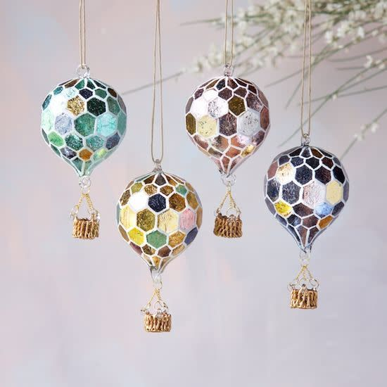 GV Round Balloon Ornamanets assorted, 5.5""