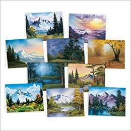 Bob Ross Note Cards