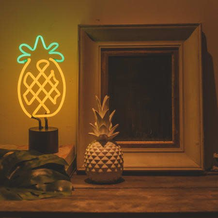 Amped Neon Cactus Desk Lamp
