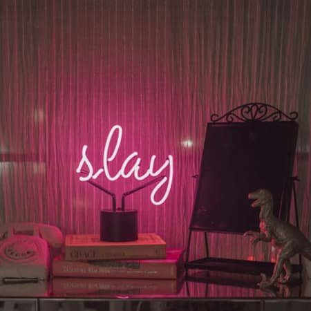 Neon Slay Desk Lamp