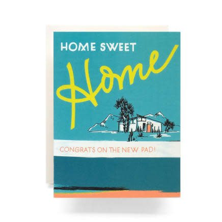 Retro Housewarming Greeting Card