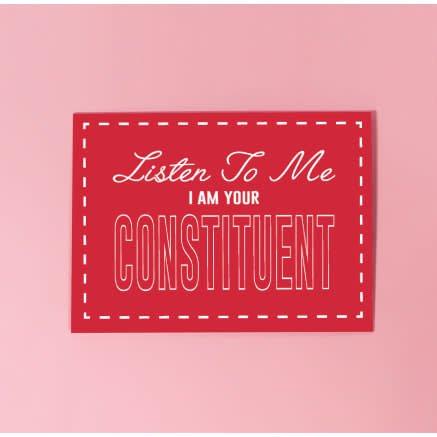 Listen To Me Postcard