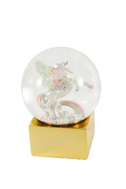 Magical Pegasus Snow Globe