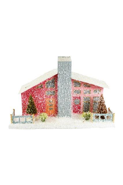 Pink Mid-Century House