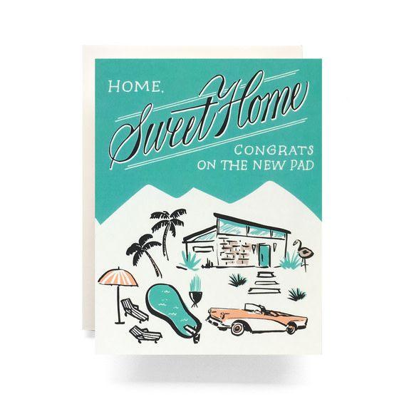 Mid-Century Housewarming